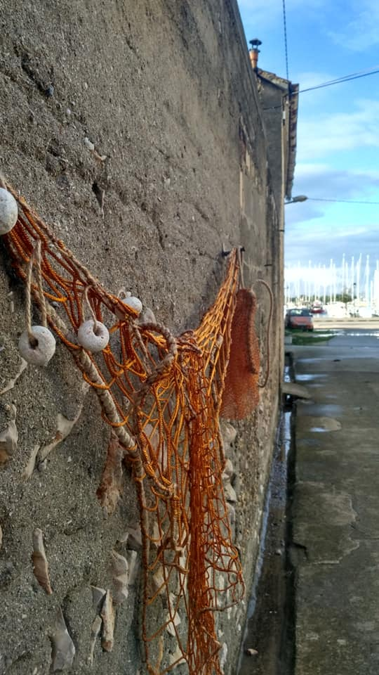 Fisherman nets for decoration